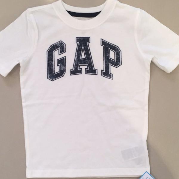 Camiseta gap branca