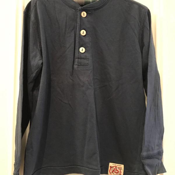Camiseta manga longa polo ralph lauren