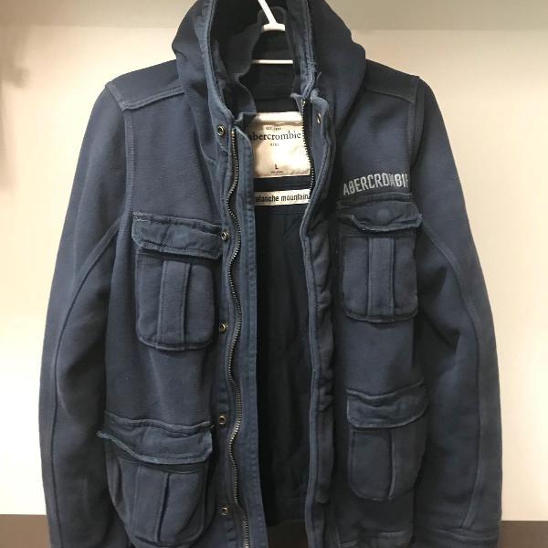 Casaco de frio reforçado importado original abercrombie tam
