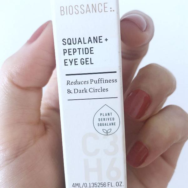 gel hidratante para olhos e olheiras biossance