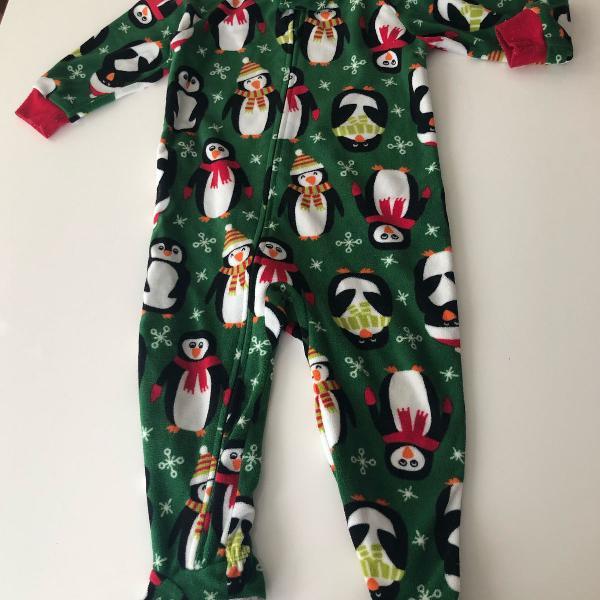 Pijama macacão carters fleece 18 meses