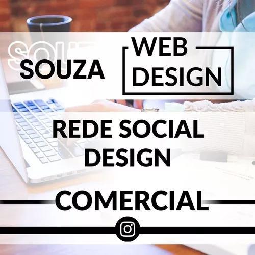 3 Artes Web Design Para Rede Social Comercial