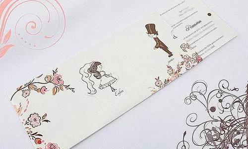 50 convites casamento personalizados especial 2