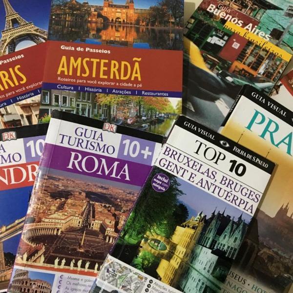 8 livros de viagem