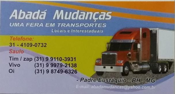Abada mudanças (transporte de mudancas para todo o brasil)
