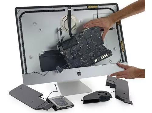 Assistência técnica apple, solda bga placa imac macbook