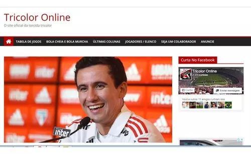 Blog de nicho - noticias de time de futebol