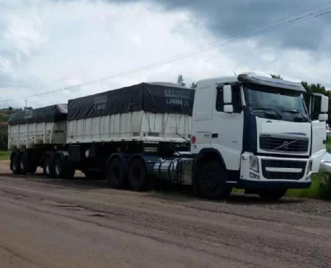 Conjunto cavalo fh 500 6x4 ano 2012, mais rodocaçamba