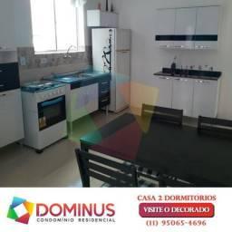 Casa de condomínio com 2 quartos à venda, 47 m² por r$