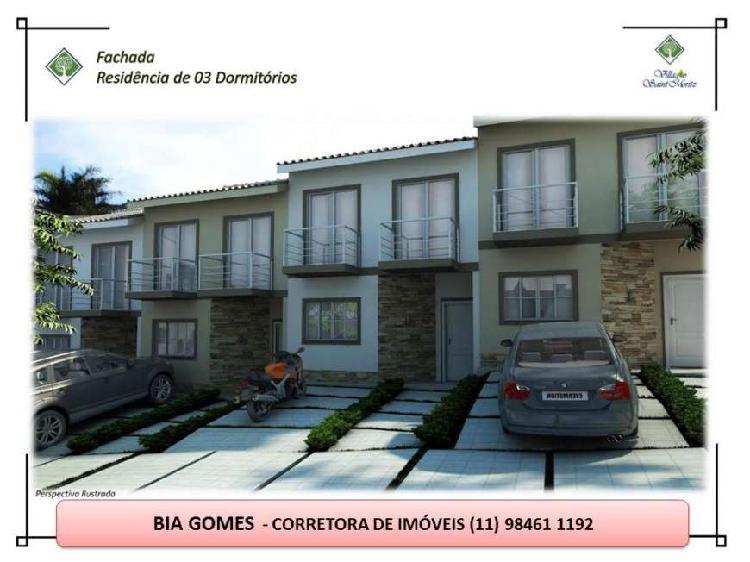 Casa de condomínio com 2 quartos à venda, 64 m² por r$