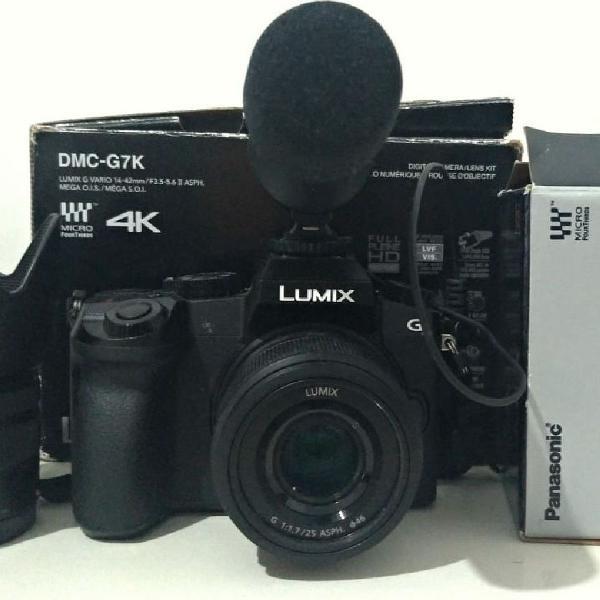 Câmera lumix g7