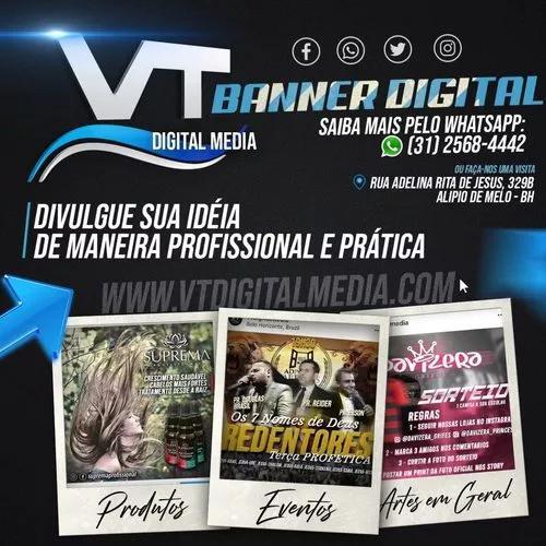 Criação profissional de banner - arte digital insta
