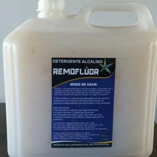 Detergente alcalino- para desencardir piso pronto para uso
