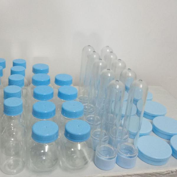 Embalagens para festa tubetes garrafinhas baleirinhos