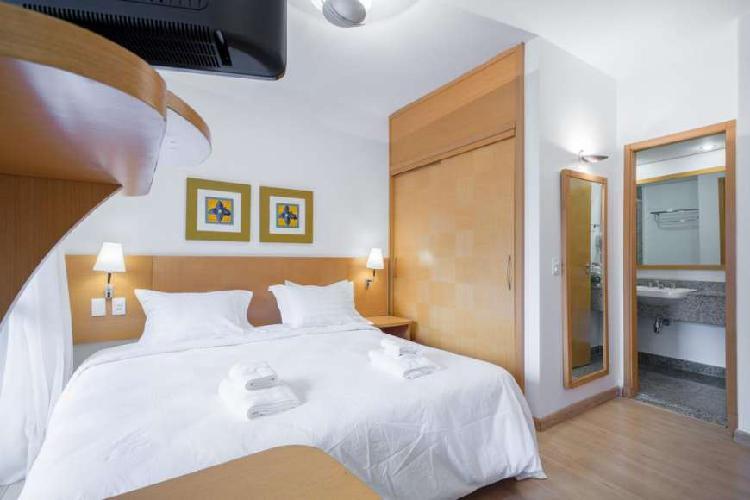 Flat com 1 quarto à venda, 30 m² por r$ 280.000 cod.