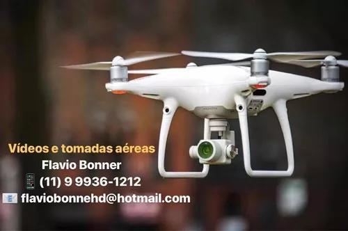 Fotos, vídeos e imagens aéreas com drone