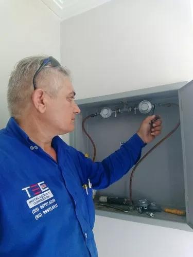 Instalação e consertos de gás dec.ozinha,predial