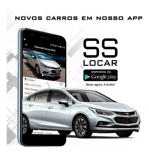 Locação de veículos para app