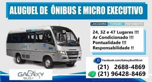 Locação de ônibus turismo e fretamento