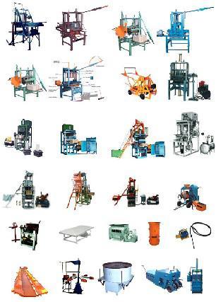 Máquinas e equipamentos para construção
