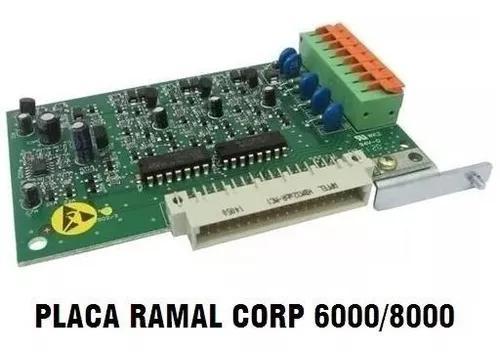 Placa ramal pabx corp 6000/8000 intelbras s