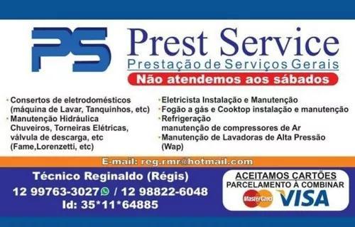 Ps prestação service (prestação de serviços gerais)
