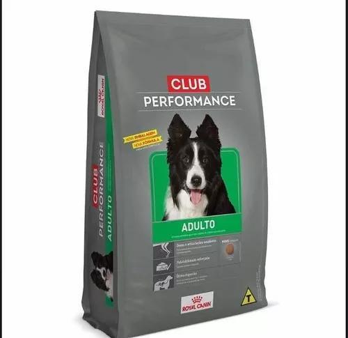 Ração royal canin performance 15kg adulto - promoção -