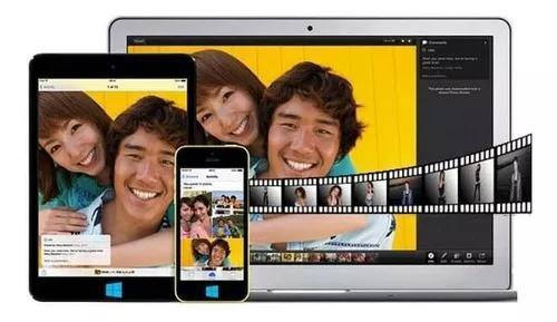 Slide de video ou foto video