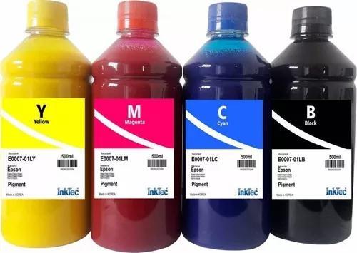 Tinta pigmentada inktec epson 500 ml