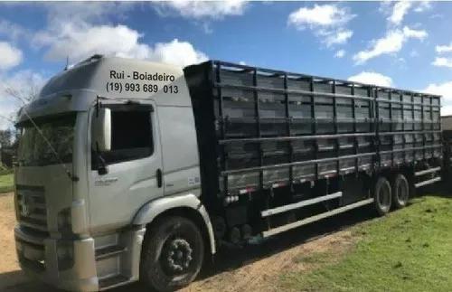Transporte de gado e cavalos - 40 anos de experiencia