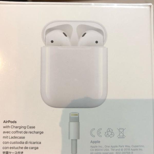 Airpods 2 lacrado na caixa apple