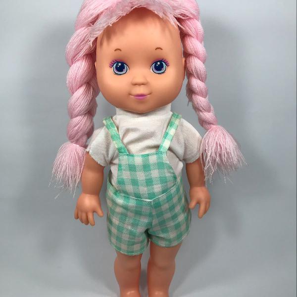 Antiga boneca trancinha grow anos 90
