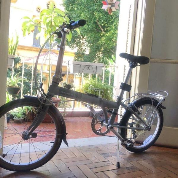 Bicicleta dobrável dahon speed d7