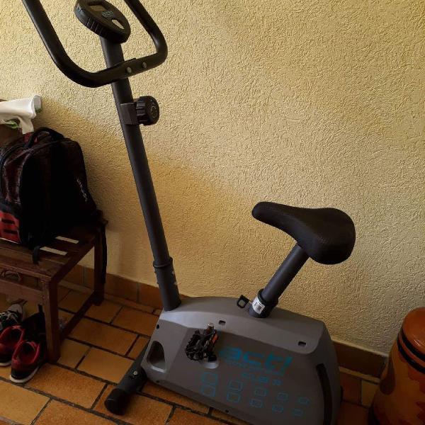 Bicicleta ergométrica act! home fitness clb11 cinza