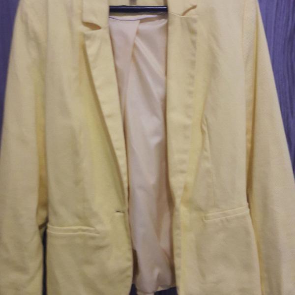 Blazer amarelo c&a - tamanho 38