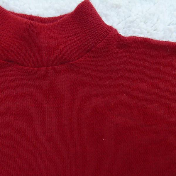 Blusa de lã, gola alta