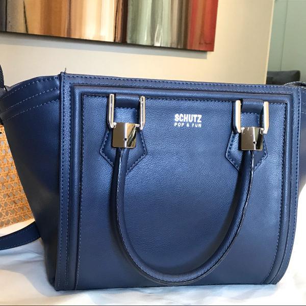 Bolsa azul schutz