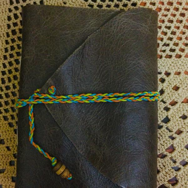 Cadernos de couro artesanal