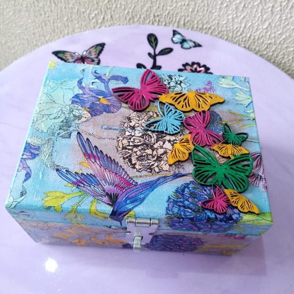 Caixinha borboletas