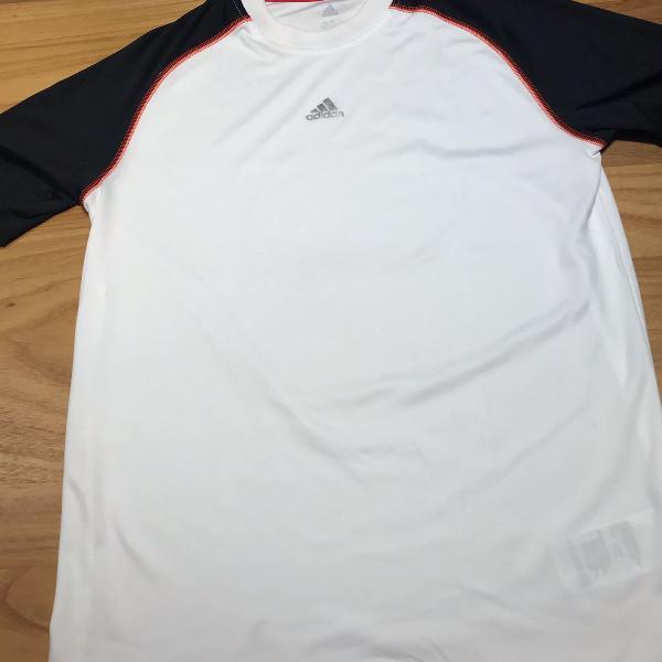 Camisa nova da adidas climacool tamanho g/l infantil - numca