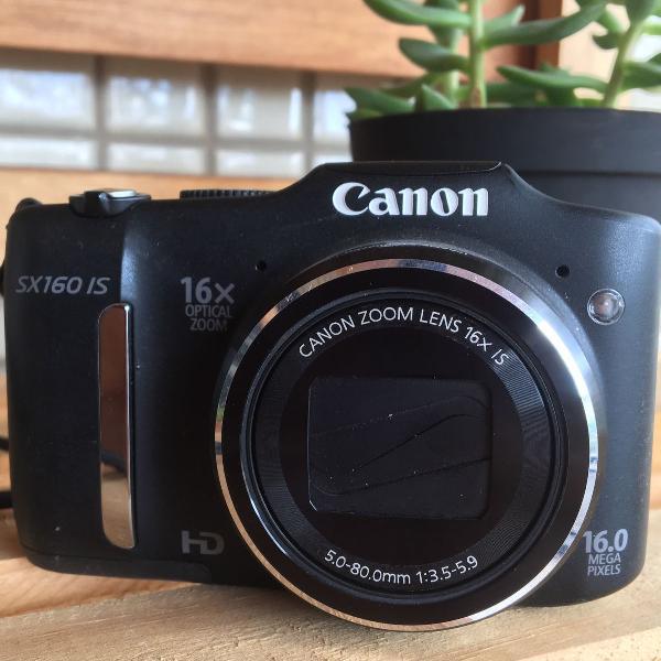 Câmera digital canon powershot sx160 is