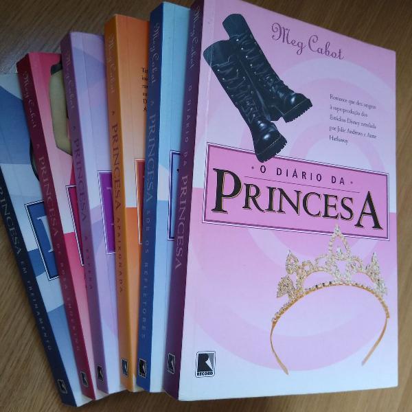 Coleção série diário da princesa