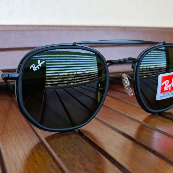 culos ray ban preto marshal II Double bridge