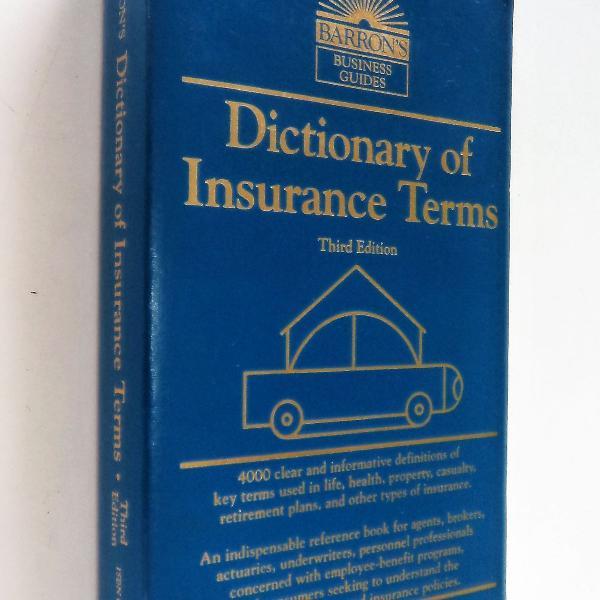 Frete grátis - dictionary of insurance terms - third