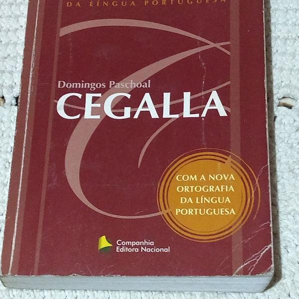 livro novissima gramatica cegalla