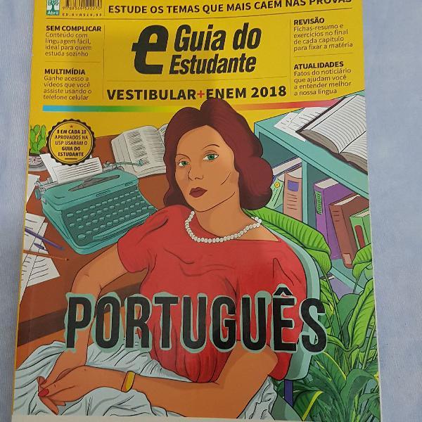 Guia do estudante português 2018