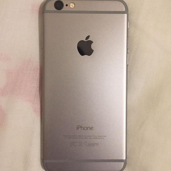 Iphone 6 cinza espacial 128gb
