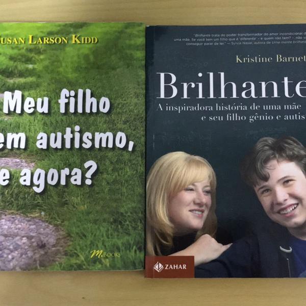 Kit dois livros - tema autismo - usado
