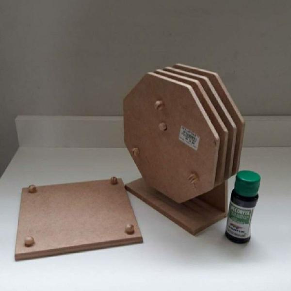 Kit madeira para pintar