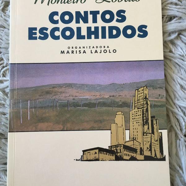 Livro contos escolhidos de monteiro lobato